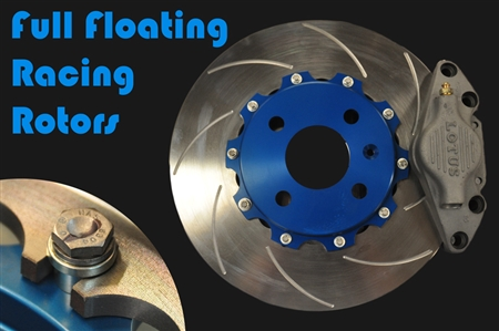 Full Floating Racing Rotors