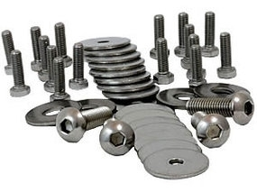 Undertray stainless fastener kit