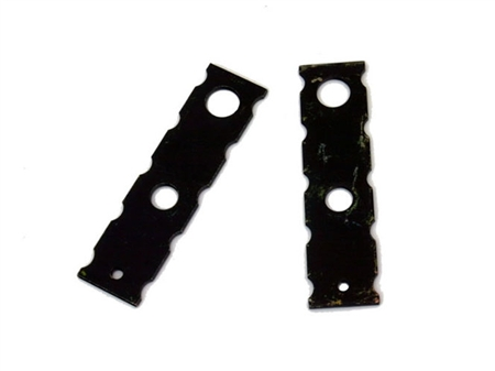 Steering rack raiser plates