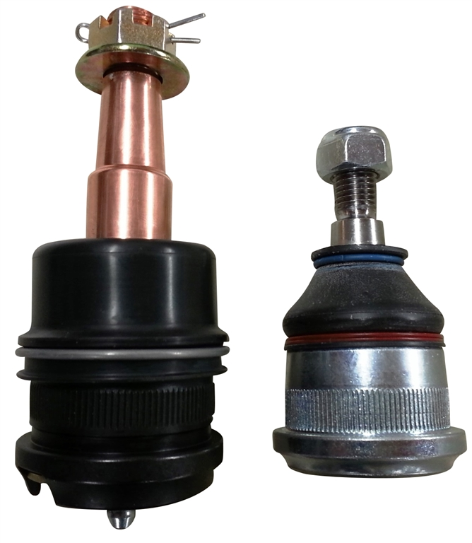 Extended Front Ball Joints